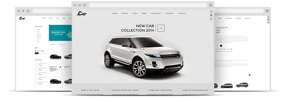 ZT Car Joomla VirtueMart Template