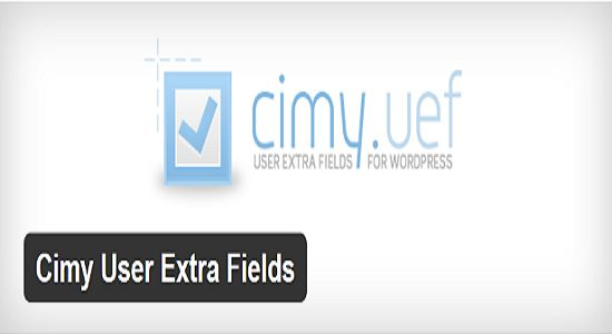 Cimy User Extra Fields WP Plugin