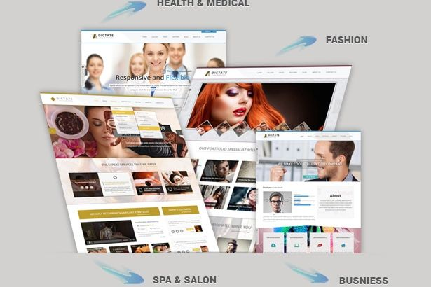 Dictate WordPress Business Theme