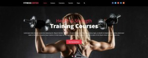 Fitness Center Joomla Gym, Personal Trainers Template