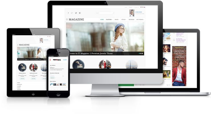 IT Magazine 2 Joomla News Portal Template