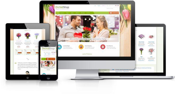 IT OrchidShop Joomla J2Store e-Commerce Template