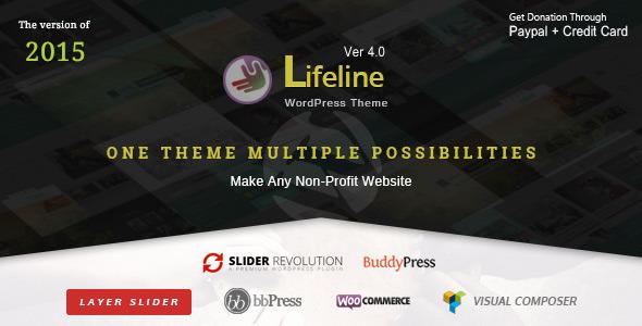 Lifeline Non Profit WordPress Theme