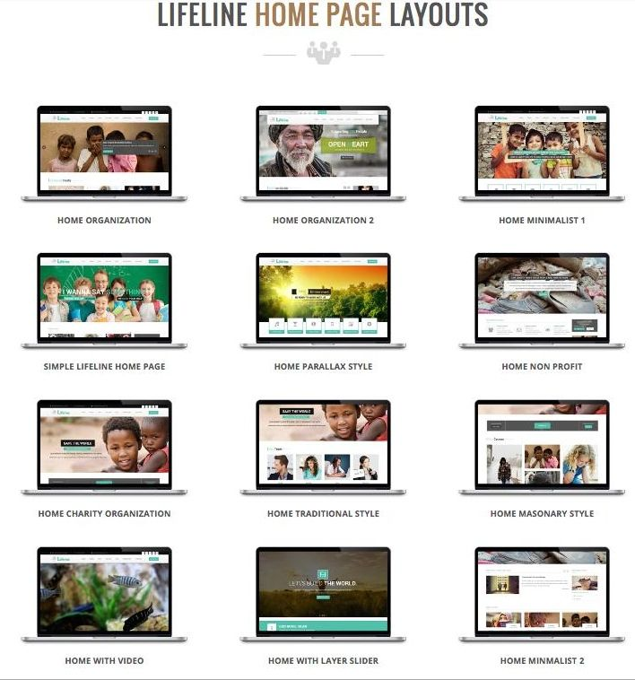 Lifeline Nonprofit WordPress Charity, NGO & Fund Raising Theme