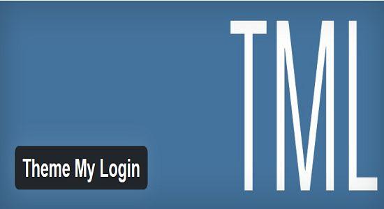 Theme My Login WP Plugin