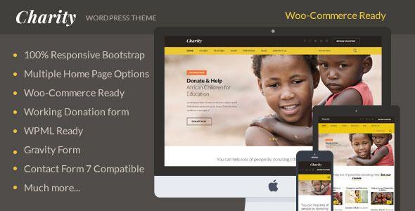 Charity Flat WordPress Theme