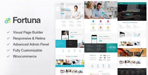 Fortuna Flat WordPress Theme