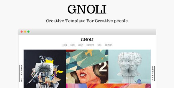 Gnoli Flat WordPress Theme