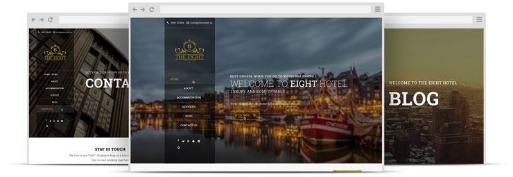 ZT Hotel Joomla Booking Service Template