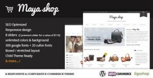 MayaShop Responsive WordPress eCommerce Theme