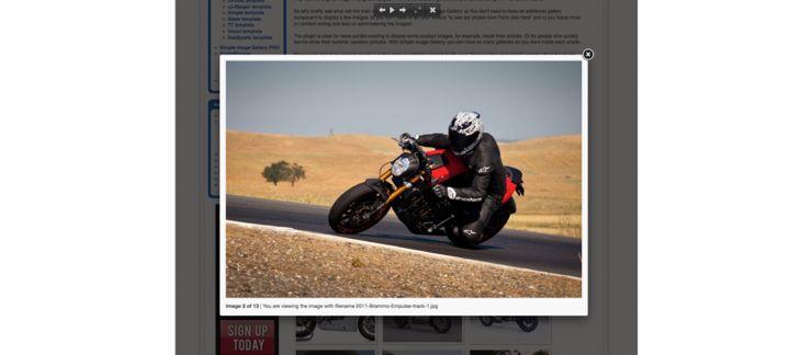 Simple Image Gallery Joomla Extension