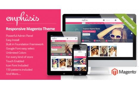 Emphasis Multi-purpose Responsive Theme