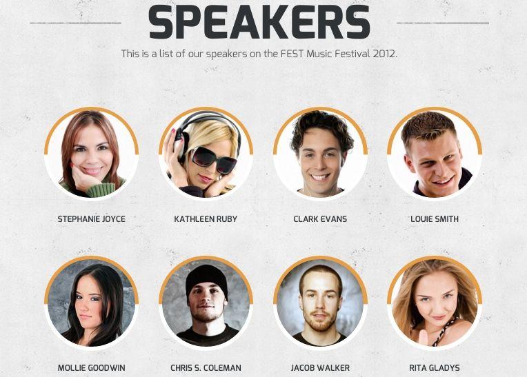 Fest Joomla Events & Conferences Template