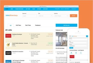 JobsDirectory WordPress Jobs Portal Theme