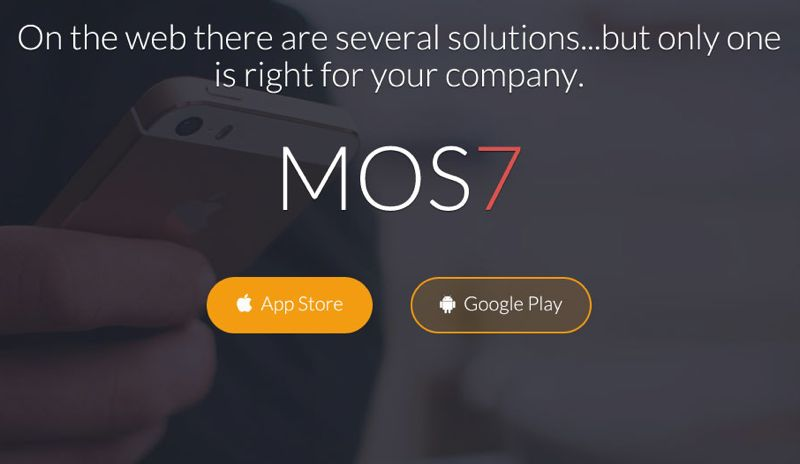 Mos7 Responsive Bootstrap 3 App Landing Page
