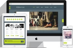 RSBrixton Joomla Modern Layout Style Template