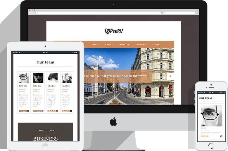 RSPenta Joomla 3.x Business Template