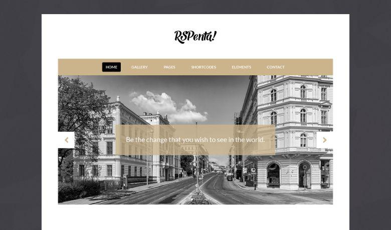 RSPenta Joomla 3.x Corporate Web Design Template