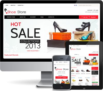 Shoes Store Magento Store Theme