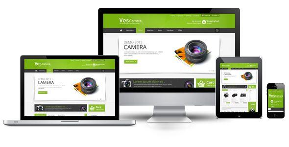 Ves Camera Magento Store Theme