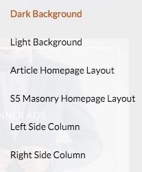 BlogBox  - 6 Styles for Homepage Layout