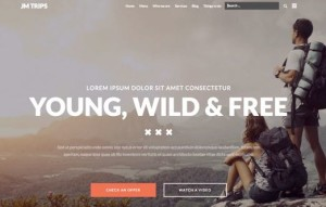 JM Trips Joomla Sports & Travel Adventure Template