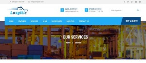 ZT Logistic Joomla Template for Freight & Transportation Industry