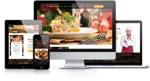 IT Restaurant 3 Joomla Bistro + e-Commerce Template