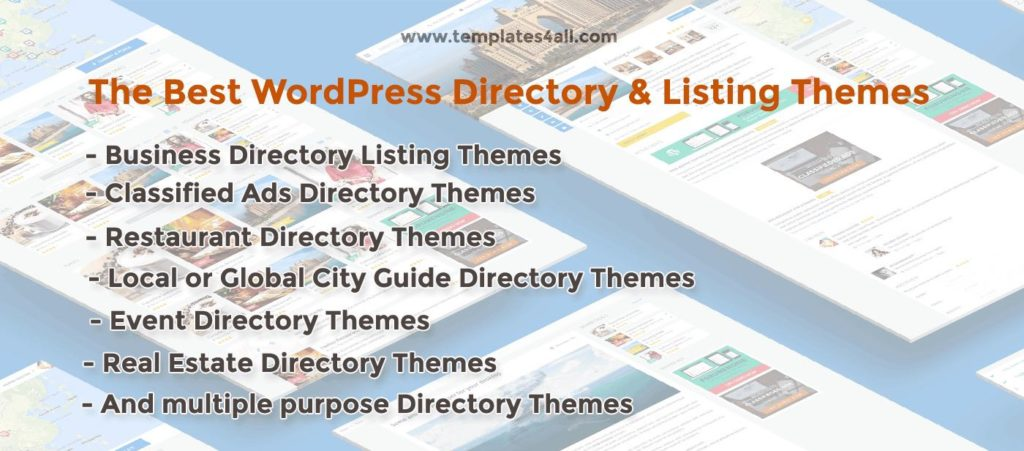20+ Best WordPress Directory Themes Collections