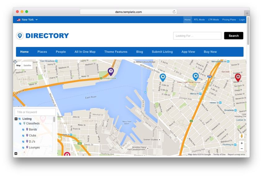 Directory Theme – Review & Business Listings Theme