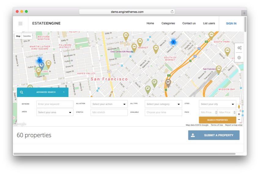 EstateEngine – WordPress Real Estate Directory Listing Theme