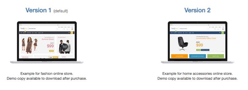 JM Trendy J2Store Joomla Template