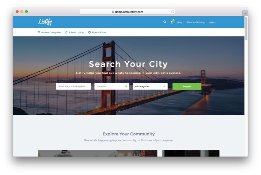 Listify – Ultimate WordPress Directory & Listing Theme
