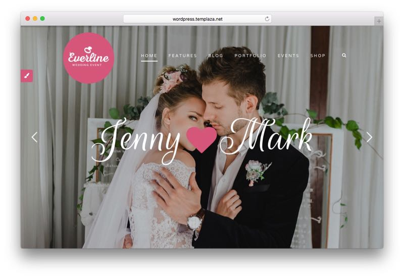 Everline Wedding & Engagement WordPress Theme