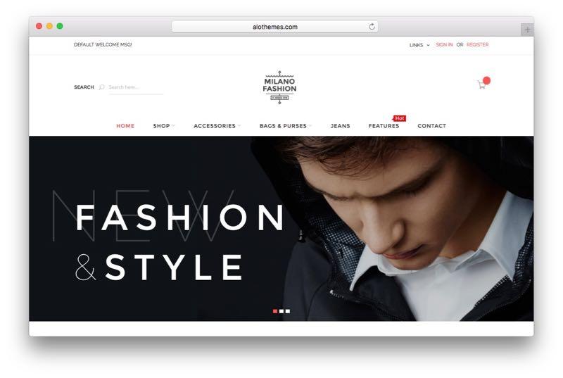 Milano Responsive Magento Fashion Store Theme