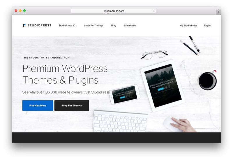 StudioPress WordPress Theme Club & Membership