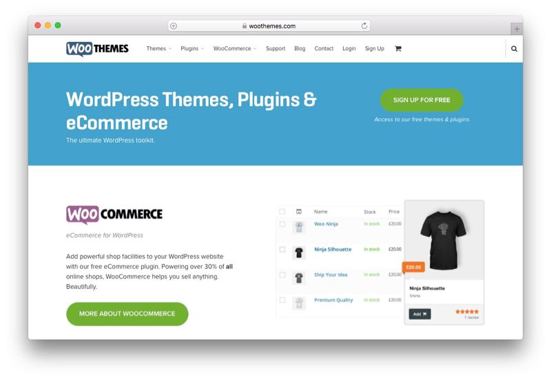 WooThemes WordPress Theme Club & Membership