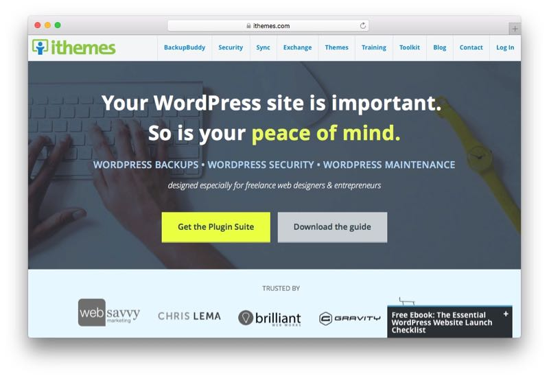 iThemes WordPress Theme Club & Membership