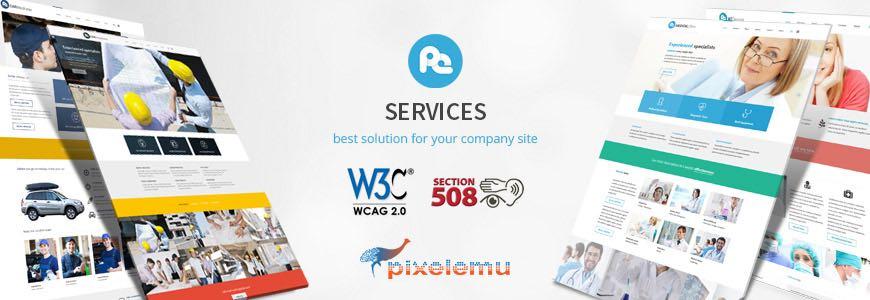PE Services Multipurpose WordPress Theme