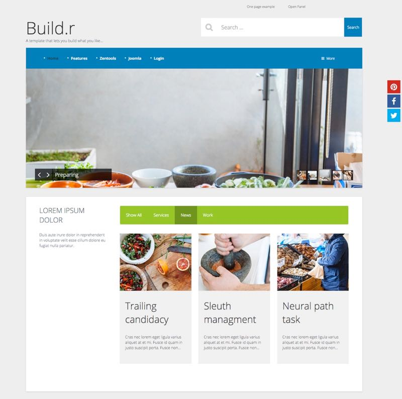 Base4 Joomla Template