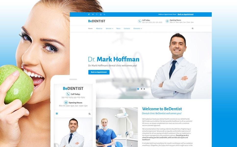 BeDentist Dentist & Medical WordPress Theme