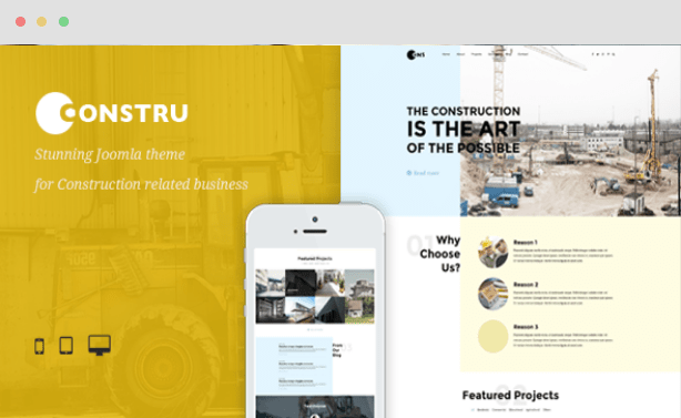Constru Construction Joomla Theme