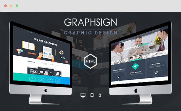 Graphsign Joomla Corporate Onepage Template