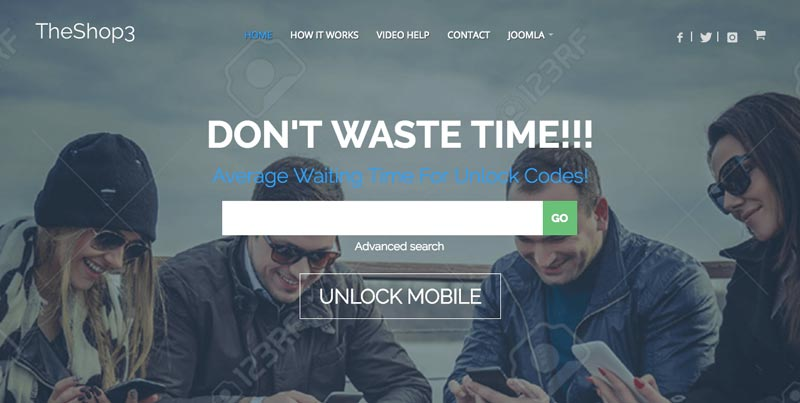 IT TheShop 3 Joomla Commercial Business Template