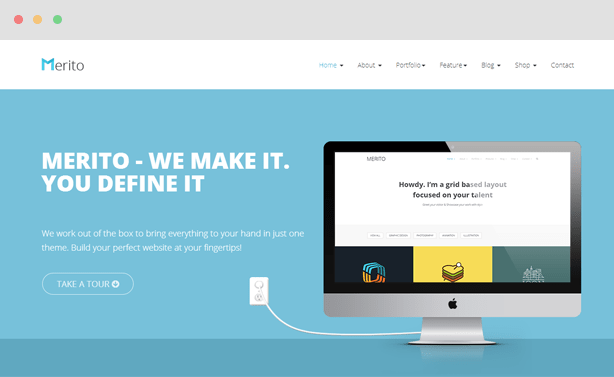 Merito Multipurpose Joomla Template
