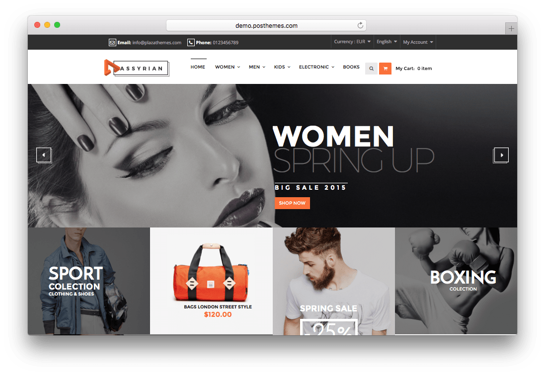 Assyrian Responsive Fashion Prestashop Theme