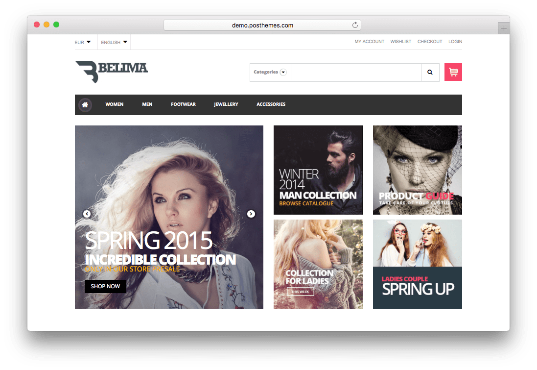 Belima Responsive Prestashop Fashion Theme