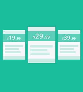 JM Pricing Tables Joomla Module