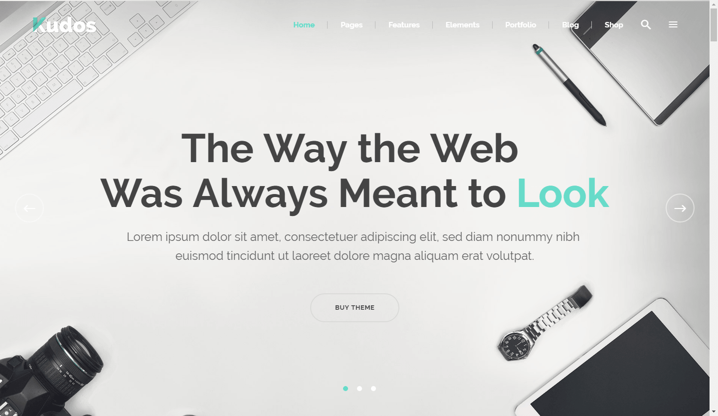 Kudos WordPress Business Theme
