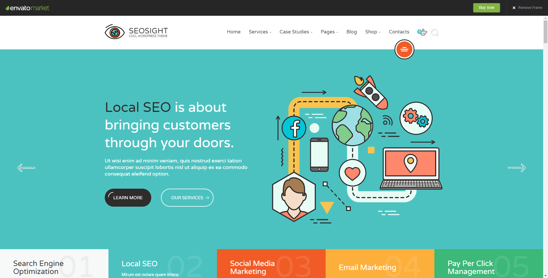 Seosight WordPress Digital Marketing Theme